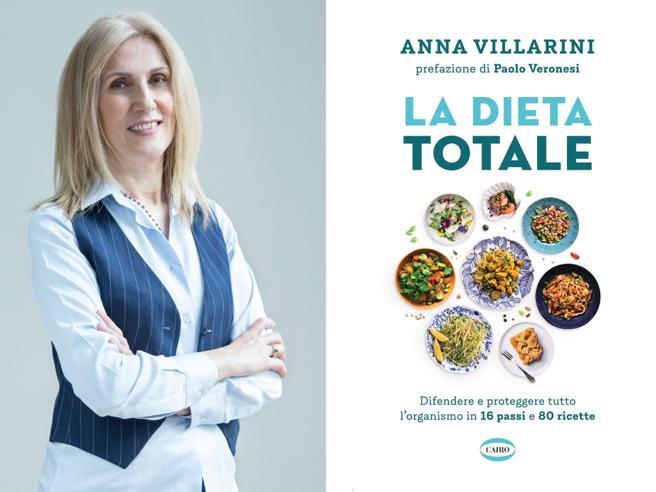 Le ricette salutari e quelle contro gli sbalzi d'umore: la «Dieta Totale» di Anna Villarini