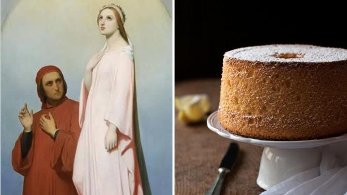Dante Day, l'Angel cake: la torta paradisiaca di Dante