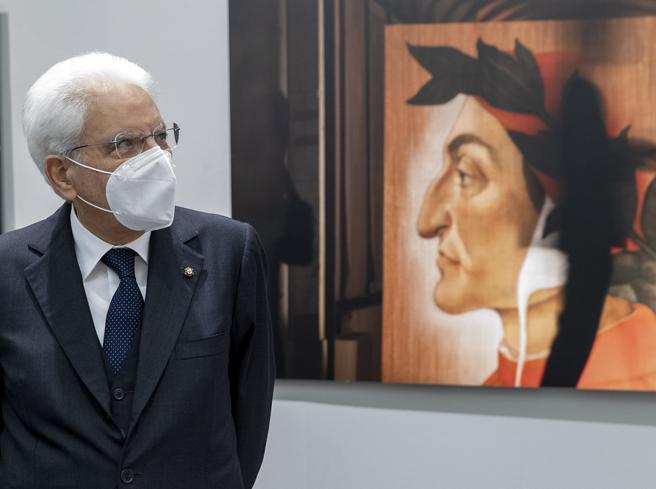 Mattarella: «Dante, una lezione di coerenza (per tutti, politici inclusi)»