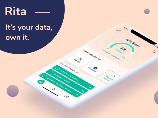 Rita, l'app che ci dice cosa sanno di noi Google e Facebook