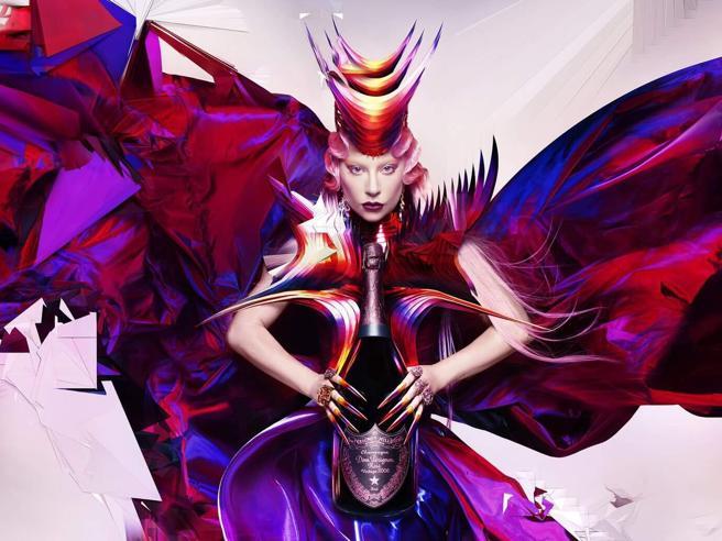 Lady Gaga è il nuovo volto dello champagne Dom Pérignon