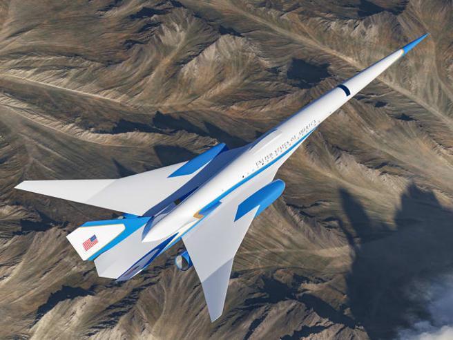 L'Air Force One diventa supersonico: volerà da Milano a Londra in 30 minuti