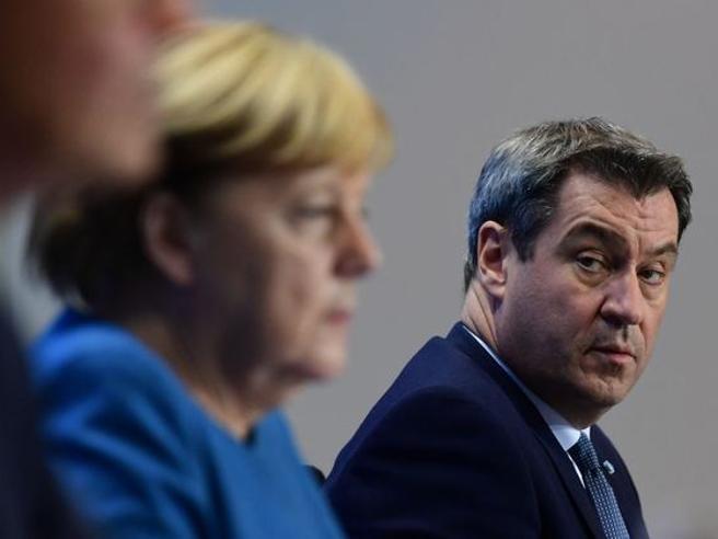 Markus Söder lancia la sfida: il leader bavarese si candida a guidare la Germania dopo Merkel