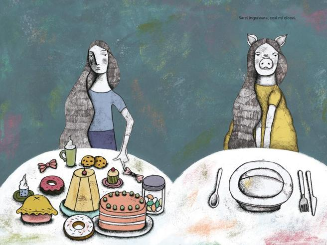 La leggerezza del fumetto in un albo illustrato per battere l'anoressia