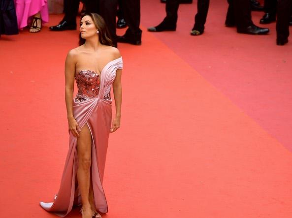 Eva Langorio en el reciente Festival de Cine de Cannes
