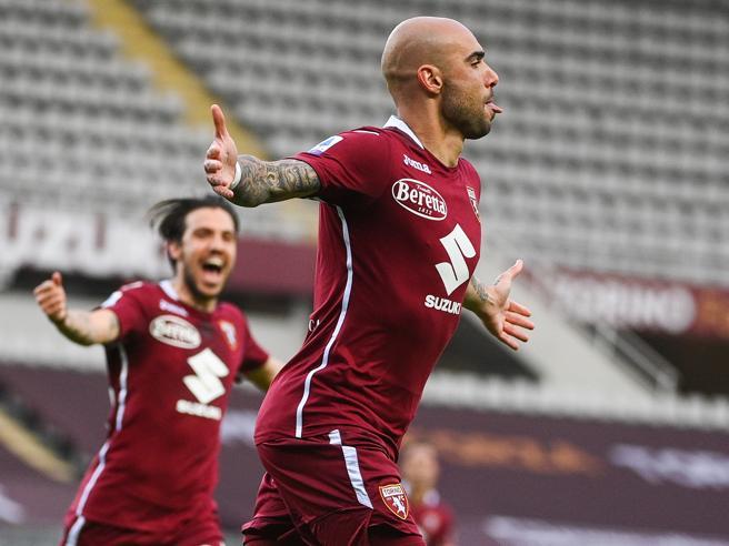 Torino s'impone sulla Roma (3-1) con gol di Sanabria, Zaza e Rincon