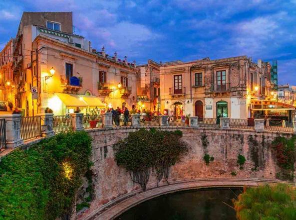 Il centro storico di Ortigia
