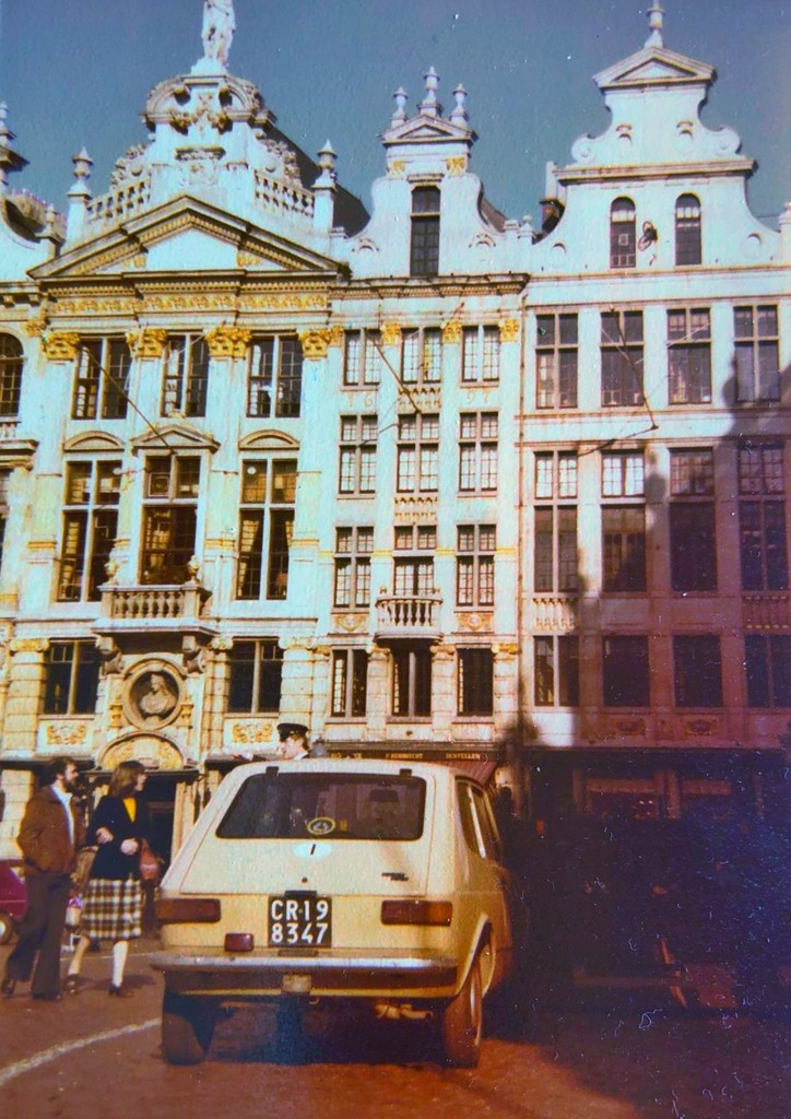 La Fiat 127 di Beppe Severgnini a Bruges nel 1979