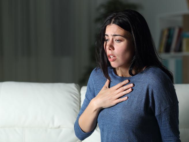 Mancanza di fiato: anche depressione e ansia possono essere responsabili