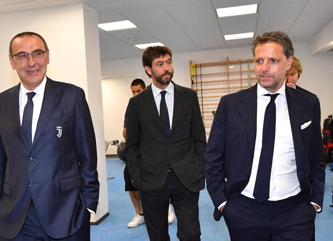 Suarez, le chat tra i dirigenti bianconeri sull'esame farsa: «Siamo la Juve e la prefettura non ci riceve»