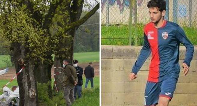 Giallo a Perugia: corpo di un  giovane calciatore  trovato morto in un fosso