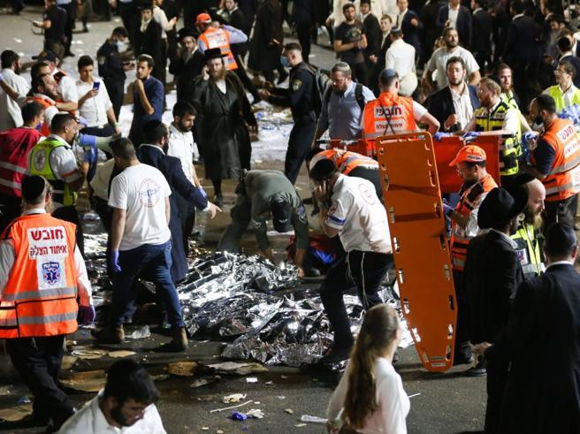 Israele, crolla gradinata a raduno religioso: 38 morti e più di 50 feriti