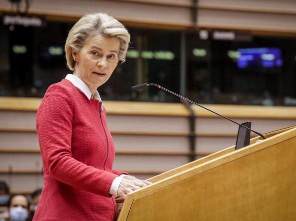 Presidenta de la Comisión Europea, Ursula von der Leyen,