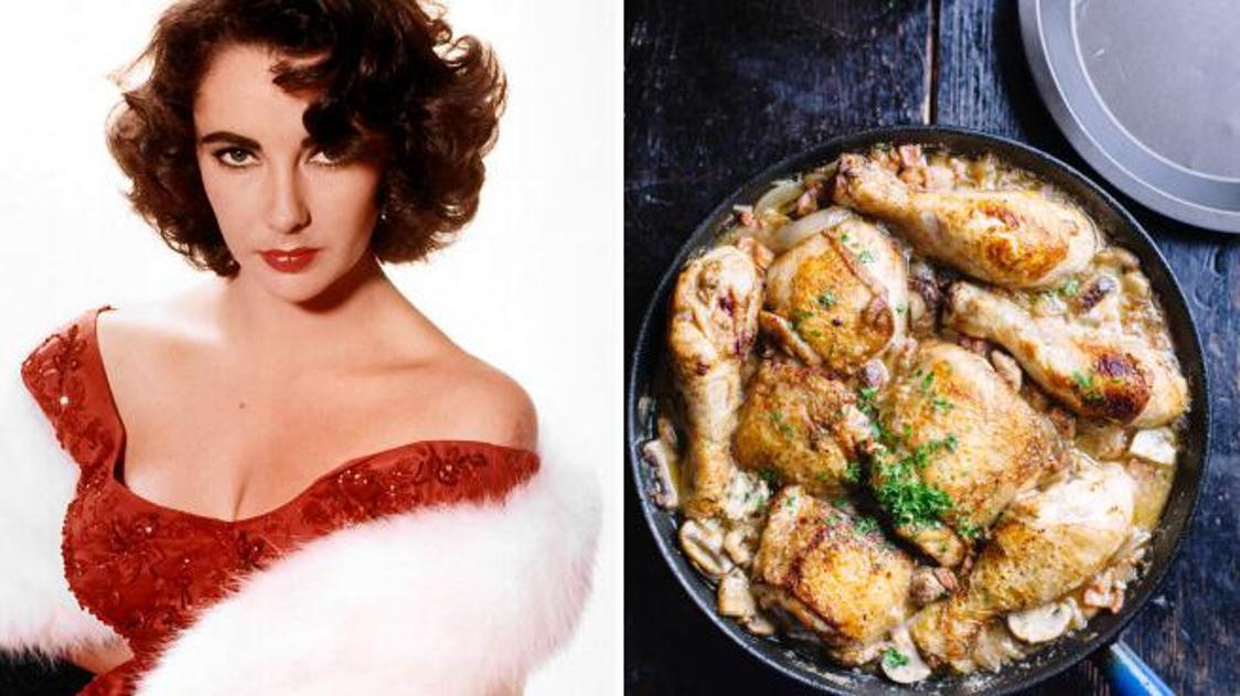 Pollo con avocado e funghi di Liz Taylor