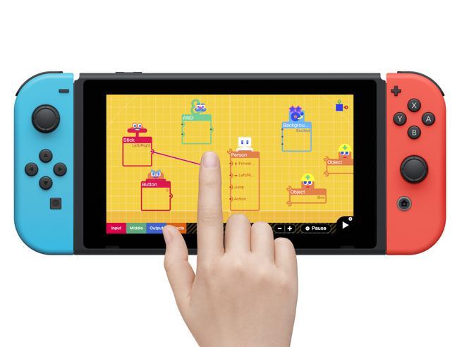 Il Laboratorio di Nintendo per imparare a creare videogiochi