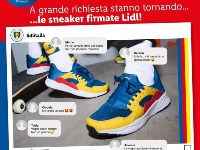 Le scarpe Lidl tornano in Italia lunedì 10 maggio (sempre a 12,99 euro)