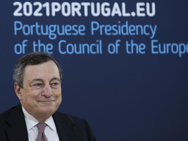 Vertice Ue, Draghi: «Voglio aprire ma usiamo la testa»