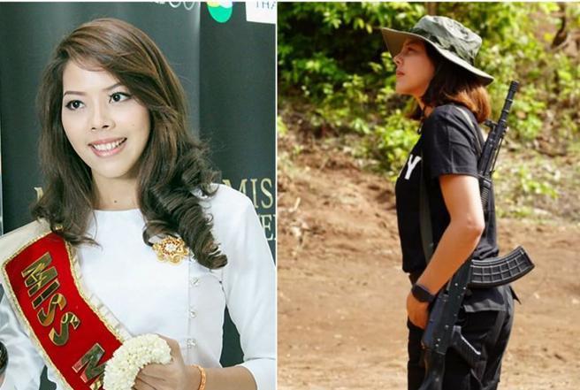 La ex reginetta diventa guerrigliera:«Ora combatterò per la Birmania»