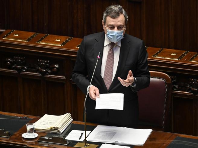 Draghi: «Approccio graduale sulle riaperture». Ma Forza Italia attacca. Poi il cordoglio per Luana e gli altri morti sul lavoro