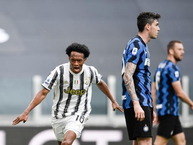 Juventus Inter 3 2: Cuadrado decide il derby d'Italia e tiene viva la corsa Champions