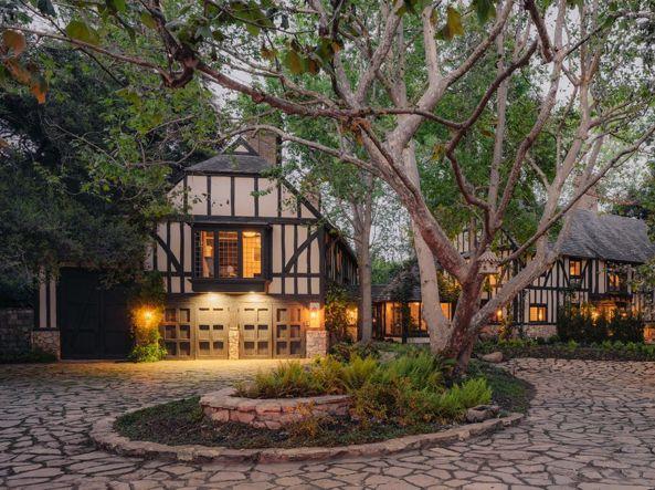 Ariana Grande's home in Montecito, California