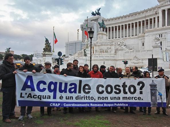 «Difendere l'acqua, proteggere i beni comuni: perché dovremo scendere in piazza il 12 giugno»