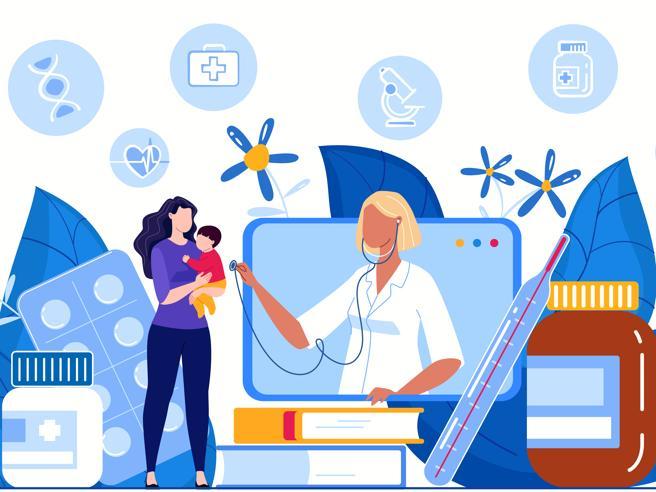 Visite e pareri virtuali «promossi» anche tra i pazienti più piccoli