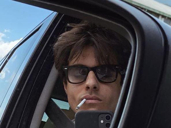 La cantante Michele Merlo, de 28 años, en una foto de su perfil de Instagram