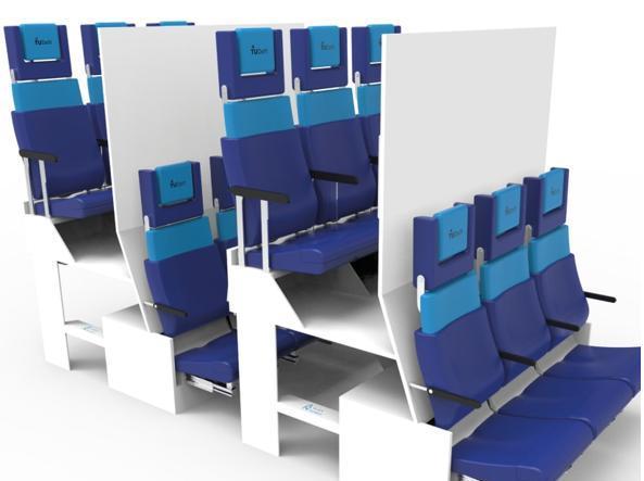 Il concept di Alejandro Núñez Vicente: Chaise Longue Economy Seat Project