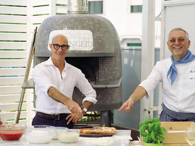 Stanley Tucci e la serie tv Searching for Italy sul cibo italiano: «Io stregato dalla carbonara»