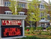 ورودی دبیرستان TC Williams