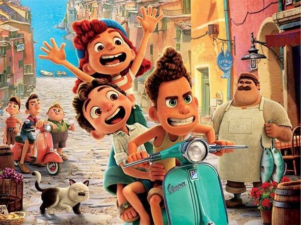 L'estate italiana di Luca, cartoon Disney frutto della tecnologia Pixar