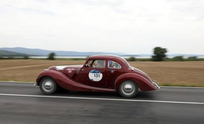 Mille Miglia, le fotografie delle auto