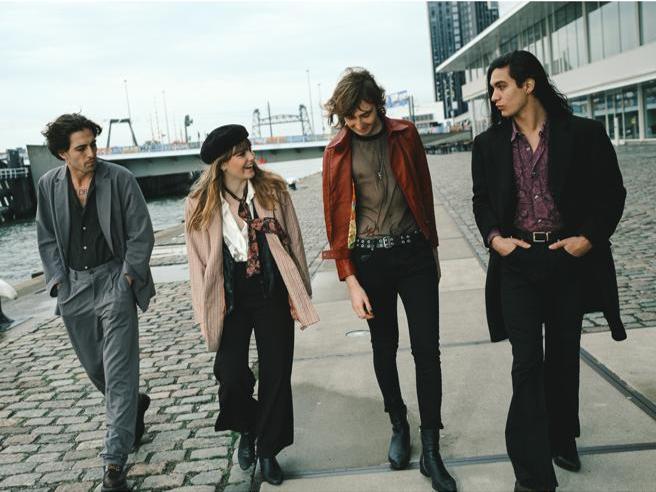 Maneskin, il gruppo entra nella top 10 inglese: è la prima volta per una band italiana