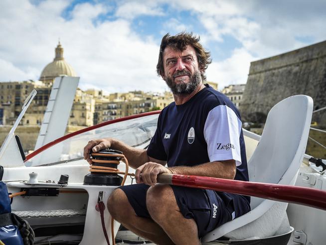 Giovanni Soldini, velista dei record e chef: «Con un bicchiere d'acqua cucino la pasta per tutto il team»