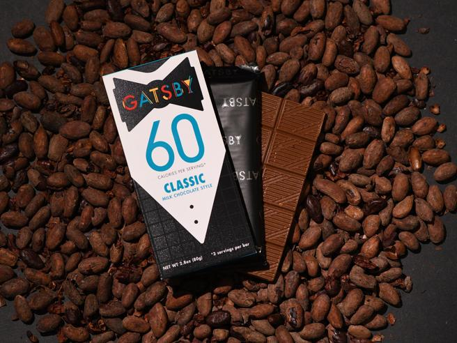Cioccolato, dagli Usa arriva Gatsby la tavoletta con la metà delle calorie