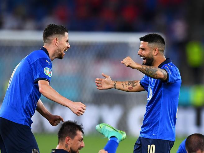 Italia, le pagelle di Sconcerti: Insigne ultimo 10, Jorginho insostituibile