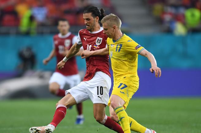 L'Austria batte l'Ucraina 1-0 Sarà l'avversaria dell'Italia negli ottavi sabato a Londra