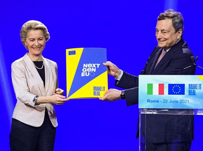 Recovery, Draghi: spendere tutto, bene e con onestà. Entro luglio i primi 25 miliardi