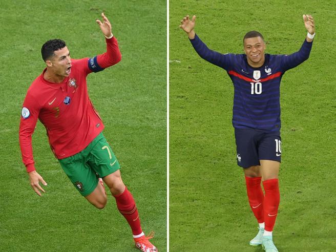 Francia-Portogallo agli Europei 2021 è la sfida tra Mbappé e Ronaldo: veleni, mercato e paure