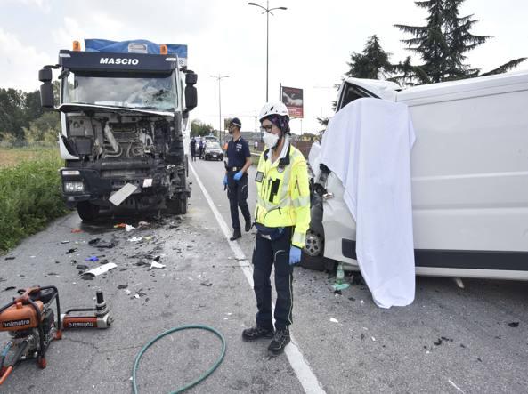 Sicurezza stradale: allarme veicoli commerciali, troppe le vittime