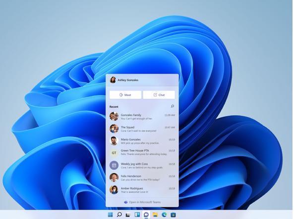 Windows 11, rimanere in contatto con gli altri