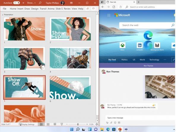 Windows 11 e il multitasking