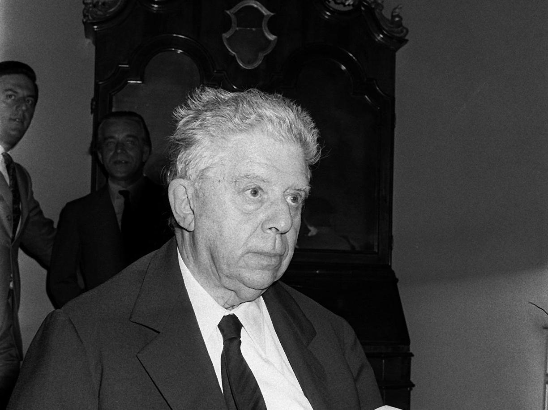 Eugenio Montale (Ansa)
