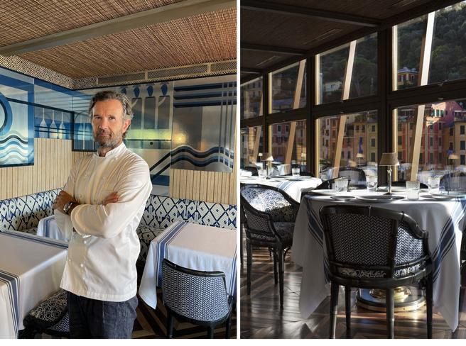 Cracco inaugura a Portofino: «Il mio primo ristorante senza carne»