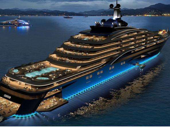 Yacht transatlantico