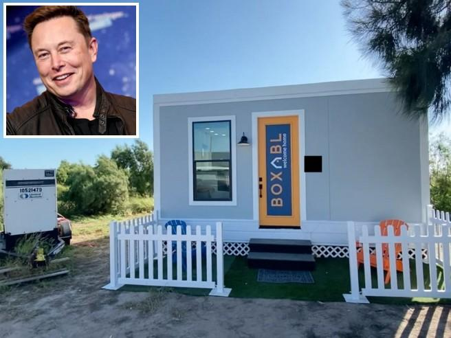 Elon Musk vive (in affitto) in un prefabbricato di 37 metri quadri