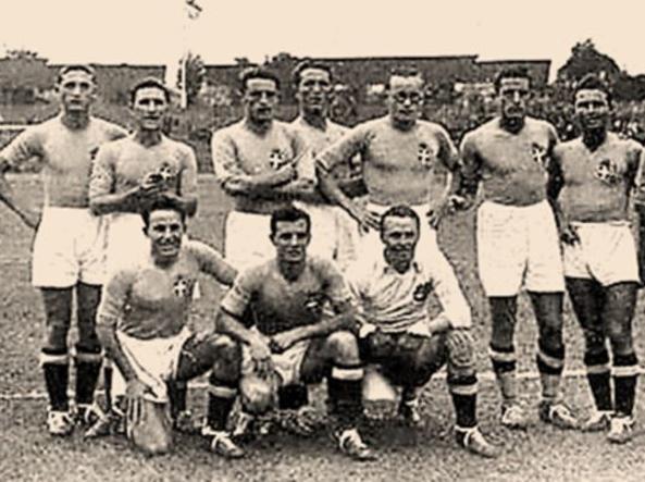 L'Italia all'Olimpiade del 1936 (Twitter)