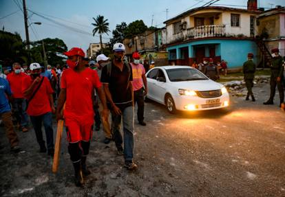 Cuba, le immagini della repressione