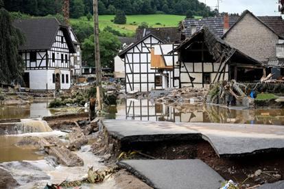 Alluvione in Germania, la violenza delle inondazioni